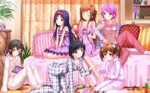 аниме, sword art online, yui, kirigaya, suguha, ayano, keiko, sword, art, online, девушки, swordsouls, yuuki, asuna, shinozaki, rika, sao, shinon, konno