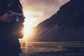 бренды, fujifilm, фотоаппарат, солнце, фотограф, девушка, природа, пейзаж, камера, горы
