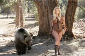 обои для рабочего стола 4000x2667 _Unsort -НЕ ВЫБИРАТЬ  , девушки, , не, выбирать, медведь