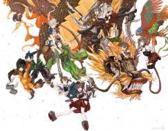 обои для рабочего стола 2000x1569 аниме, kantai collection, shoukaku, kaga, tora, jun, дракон, taihou, unryuu, zuikaku, арт, девушки, souryuu, hiryuu, kantai, collection, akagi, kancolle, amagi