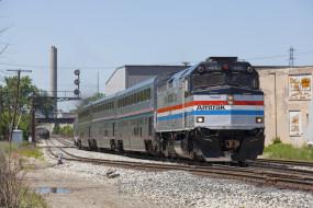 обои для рабочего стола 2048x1366 техника, поезда, состав, локомотив, рельсы, дорога, железная