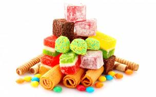 еда, конфеты,  шоколад,  сладости, wafers, сладкое, вафли, sweets, candy, мармелад