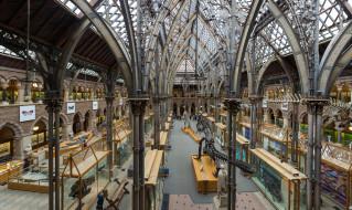 pitt rivers museum,  oxford, интерьер, дворцы,  музеи, музей