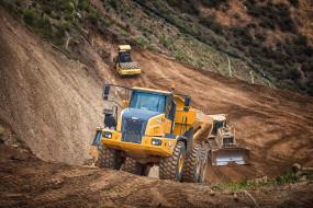 bell b40d articulated dump truck, техника, строительная техника, карьерный, самосвал