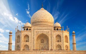 города, тадж-махал , индия, uttar, agra, pradesh, casstle, замок, храм, тадж, махал, памятник, india, taj, mahal