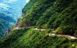 обои для рабочего стола 1920x1200 природа, дороги, бразилия, serra, do, rio, rastro, дорога, лес, горы, скалы