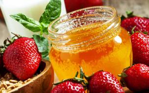 ���, ��,  �������,  �������,  ����, berries, strawberries, honey, �����, ��������, �������, ���