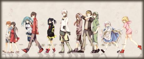 аниме, kagerou project, ene, haumizuki, konoha, люди, арт, seto, kousuke, kisaragi, shintaro, asahina, hiyori, momo, kido, tsubomi, kozakura, mary, amamiya, hibiya, девушки, парни, группа, kagerou, project, enomoto, takane, kano, shuuya
