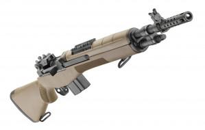 полуавтоматическая, M1A, Springfield, оружие, винтовка