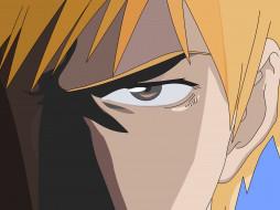 kurosaki ichigo, фон, взгляд, парень