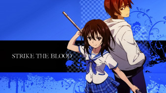 strike the blood, девушка, парень