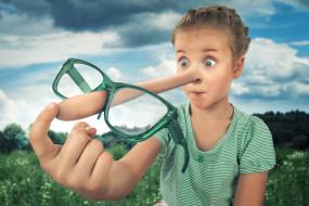 юмор и приколы, буратино, выражение, очки, нос, девочка, глаза