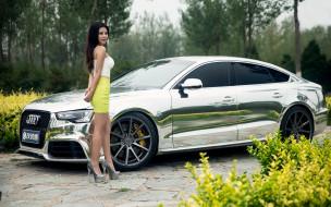 автомобили, -авто с девушками, автомобиль, взгляд, фон, девушка