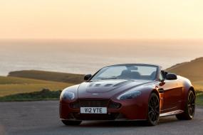 автомобили, aston martin, aston, martin, 2014г, uk-spec, v12, vantage, s, roadster
