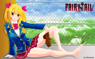 fairy tail, �����, lucy, ���, ������, �������