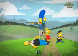 мультфильмы, the simpsons, барт, breaking, bad, гомер, лиза