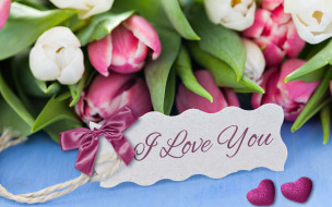 �����������, ���� ������� ���������,  ��������,  ������, i, love, you, romantic, hearts, tulips, flowers, ��������, �����, ��������, ������