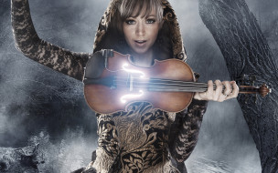 музыка, lindsey stirling, lindsey, stirling, линдсей, стирлинг, ночь, скрипка, violin