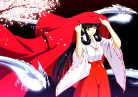аниме, inuyasha, демоны, кикио, kikyou, души