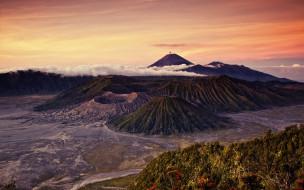 обои для рабочего стола 1920x1200 природа, горы, гора, бромо, индонезия
