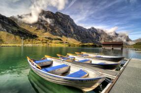 корабли, лодки,  шлюпки, лодка, пристань