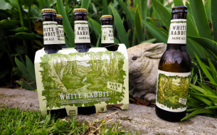 бренды, white rabbit, пиво
