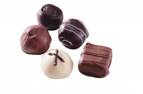 еда, конфеты,  шоколад,  сладости, ассорти, шоколадные