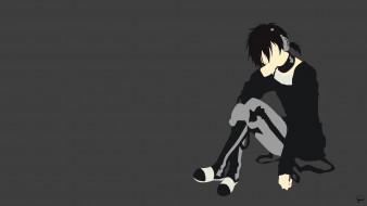аниме, kagerou project, парень, вектор, арт, mekaku, city, actors, dark, konoha