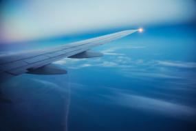 авиация, авиационный пейзаж, креатив, крыло