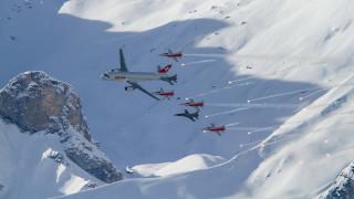 авиация, разные вместе, снег