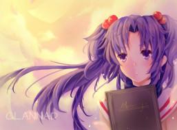 аниме, clannad, ichinose, kotomi, девочка, арт