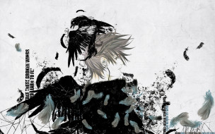 аниме, air gear, wings, feathers, air, gear