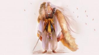 аниме, inuyasha, тенсейга, меч, сешимару, инуяша, арт