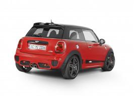 автомобили, mini, f56, ac, schnitzer, works, cooper, красный, 2015г, john