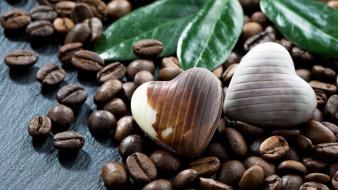 еда, конфеты,  шоколад,  сладости, шоколад, шоколадные, зёрна, кофе, кофейные
