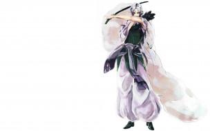 аниме, inuyasha, инуяша, меч, сешимару, арт, фон, демон