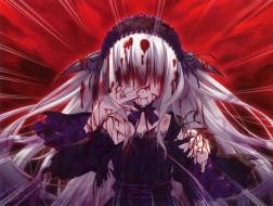 аниме, 11eyes, девочка, 11, eyes, chikotam, lisette, vertorre, кровь