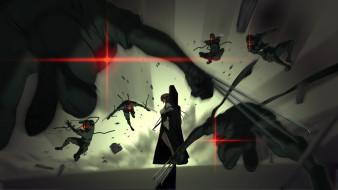 аниме, full metal daemon,  muramasa, девушка, ниндзя