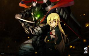 аниме, full metal daemon,  muramasa, девочка, робот