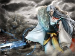 аниме, inuyasha, меч, сешимару, арт