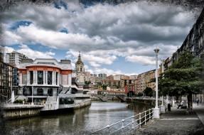 bilbao, города, - улицы,  площади,  набережные, канал, набережная, здания